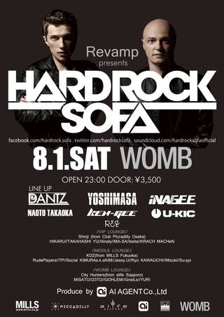 HARD ROCK SOFA WOMB
