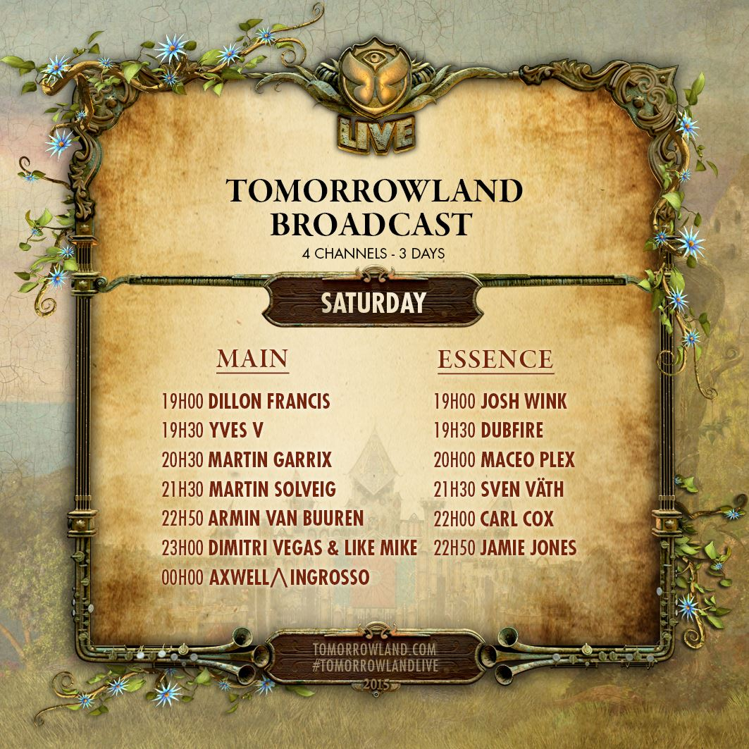 Tomorrowland-Belgie-Saturday