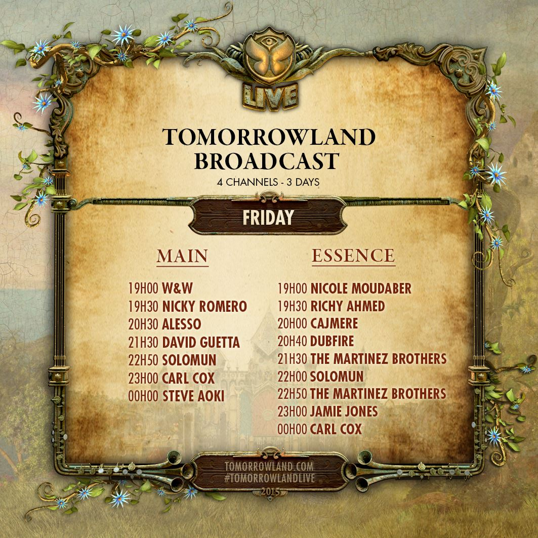Tomorrowland-Belgie-Friday