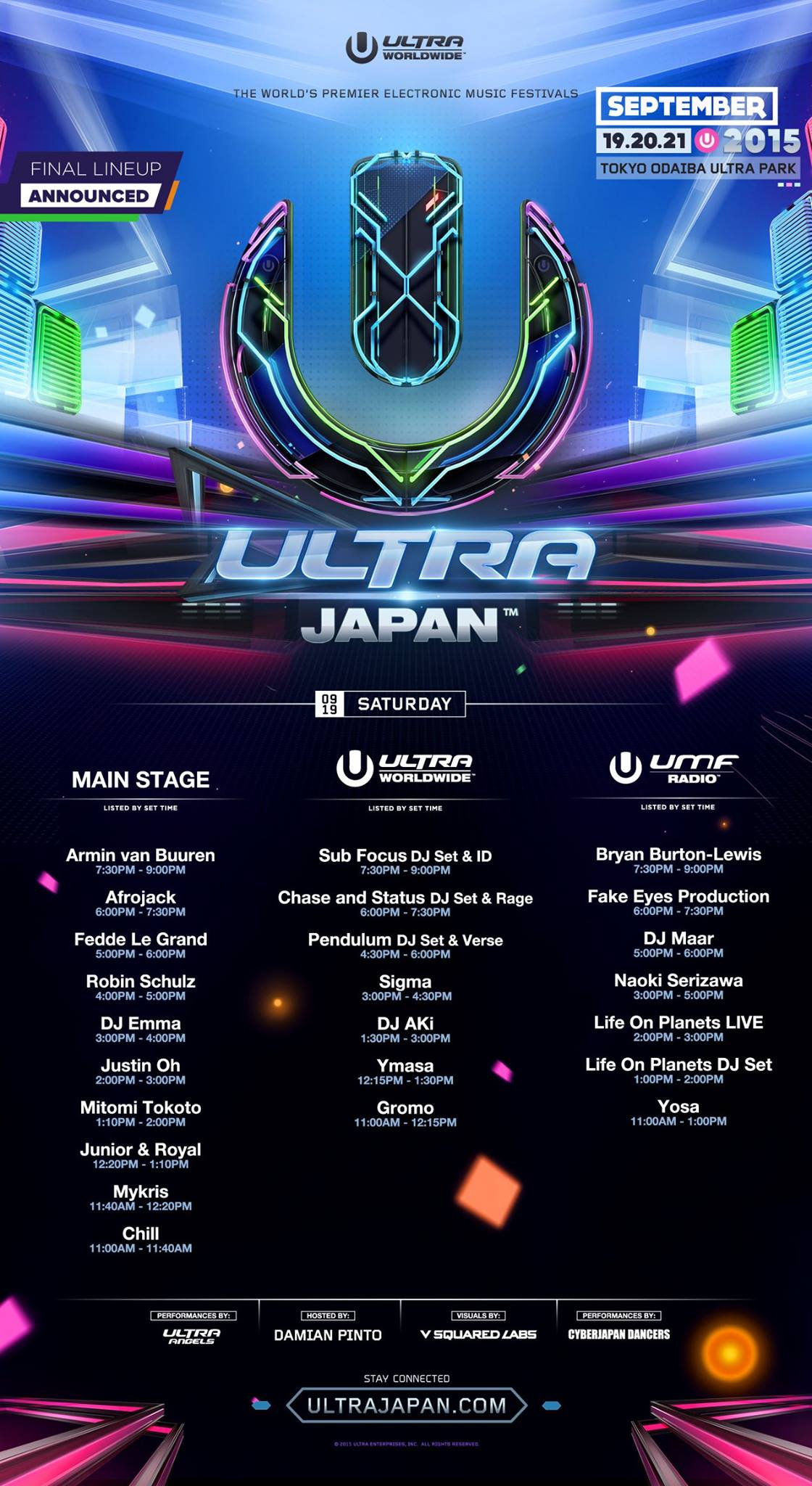ULTRA JAPAN 2015 DAY 1