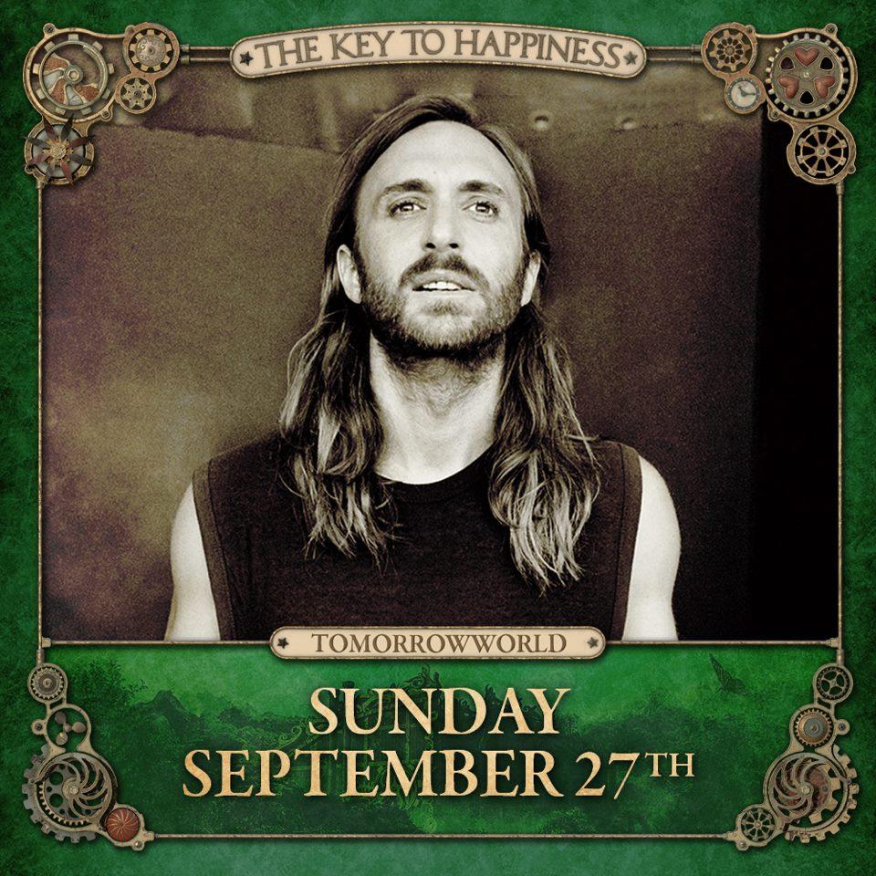 David Guetta TomorrowWorld