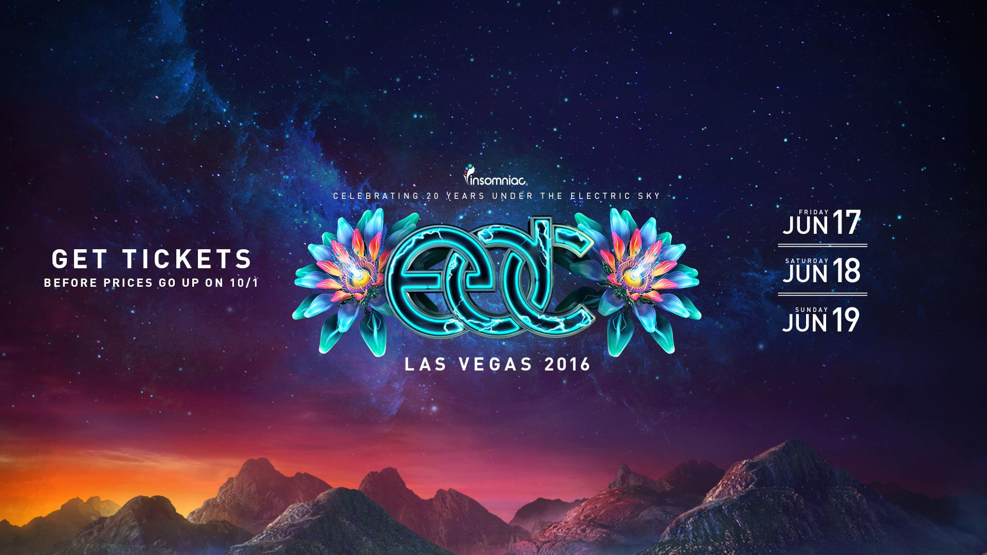 EDC Las Vegas Ticket