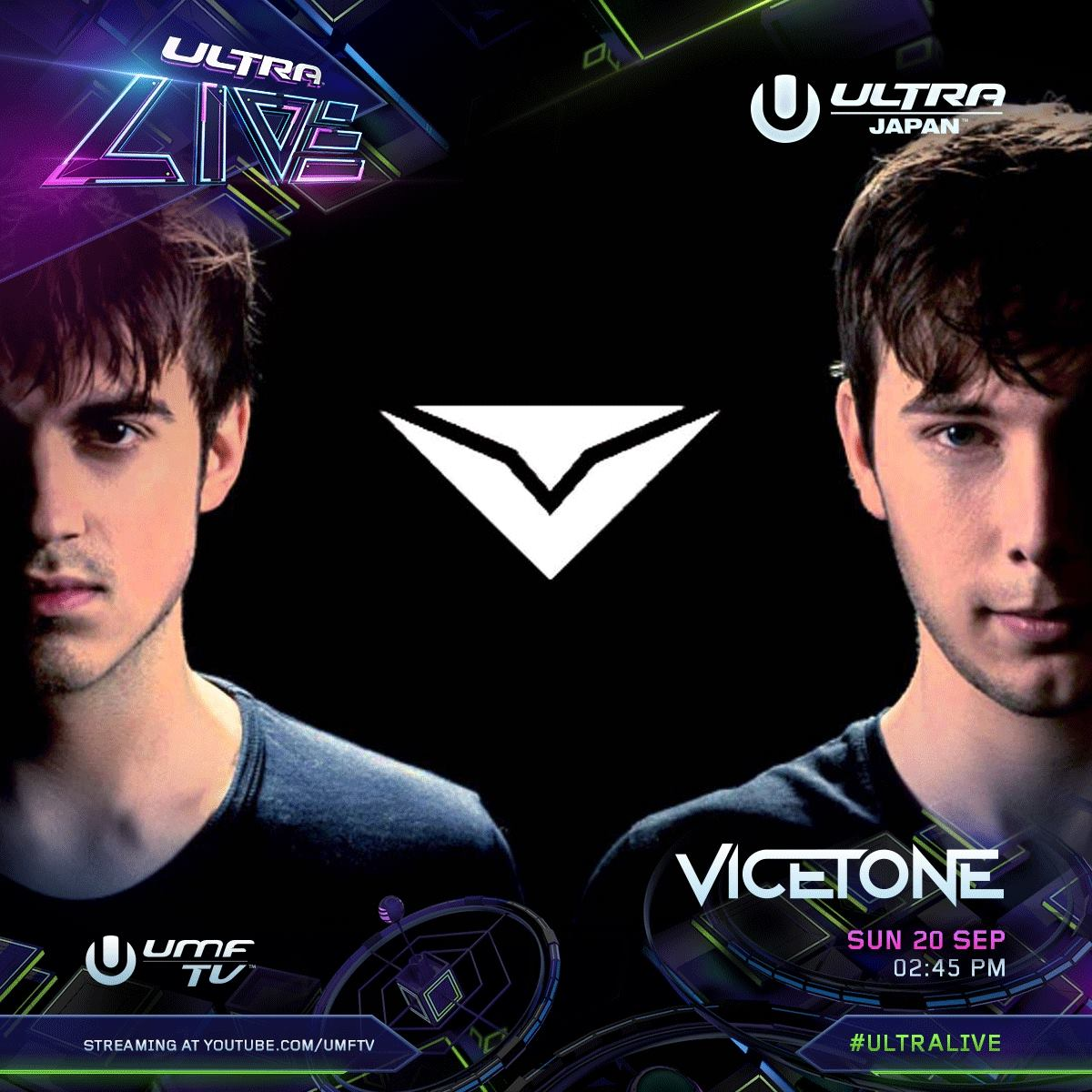 ULTRA JAPAN 2015 Vicetone
