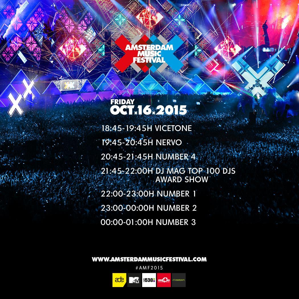 Amsterdam Music Festival 2015 live