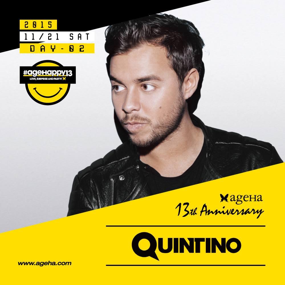 Quintino ageHa 13th