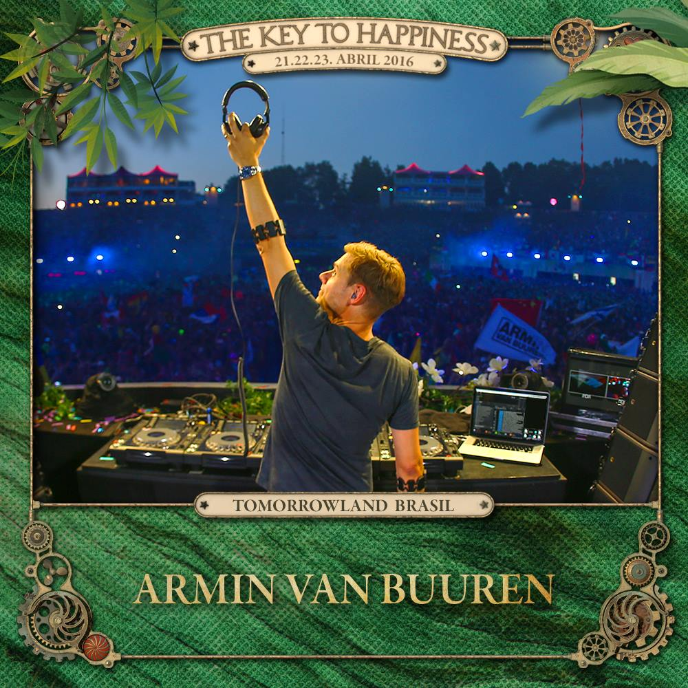 Armin van Buuren Tomorrowland Brasil 2016