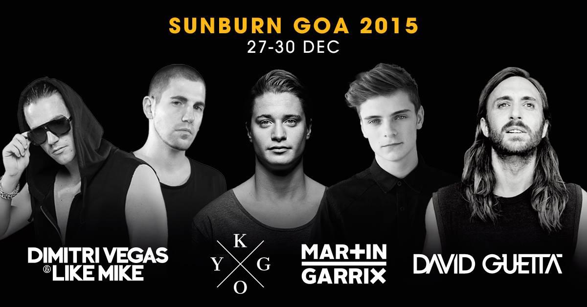 SUNBURN Festival 2015 Headliner