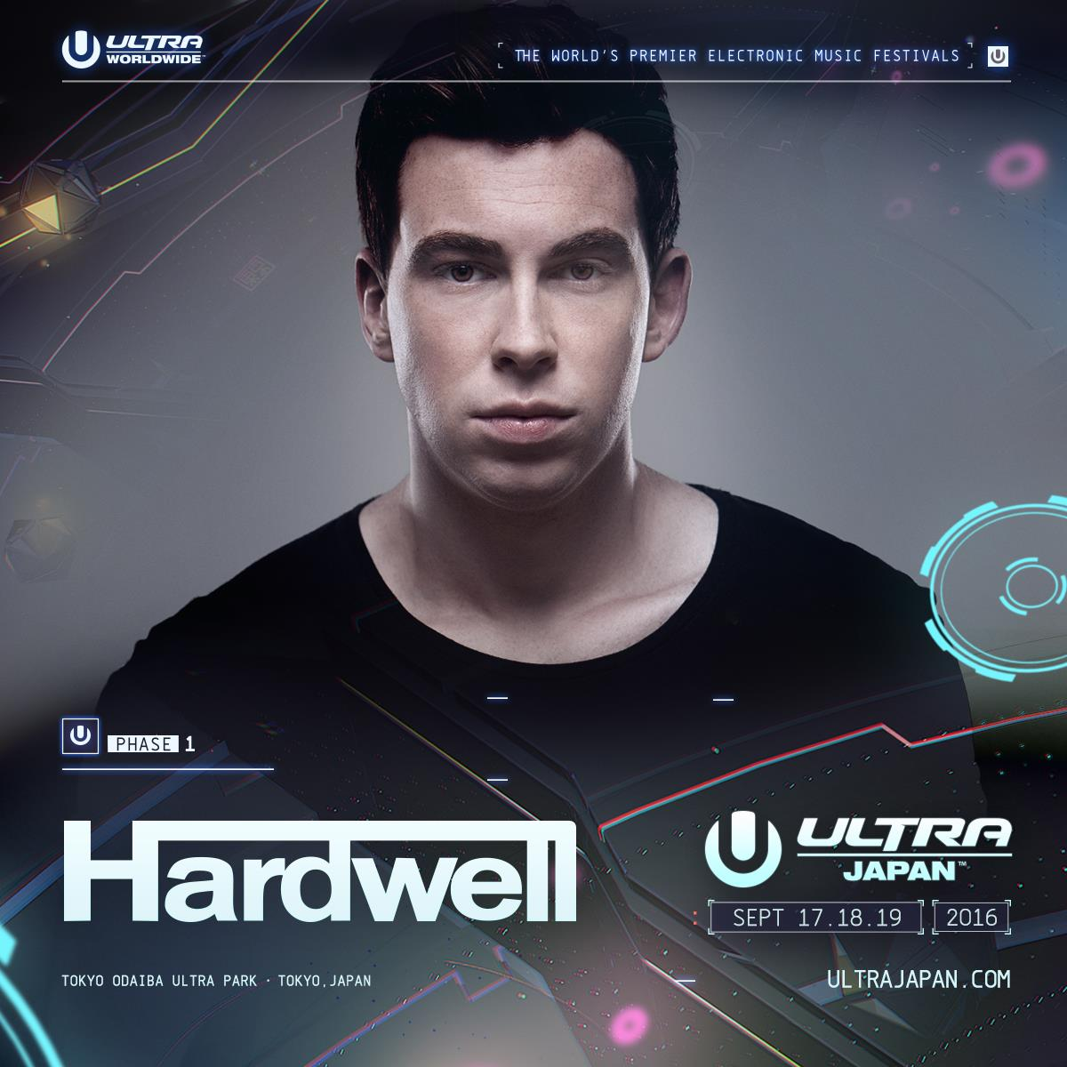 ULTRA JAPAN 2016 HARDWELL