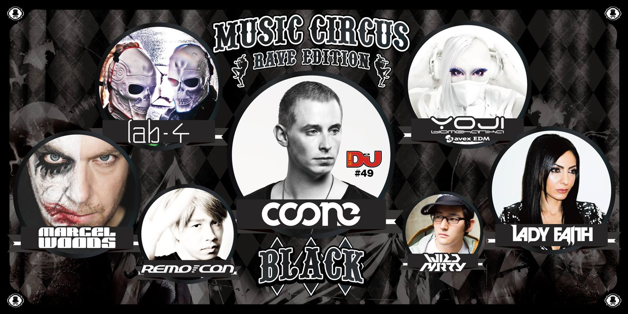 BLACK by MUSIC CIRCUS