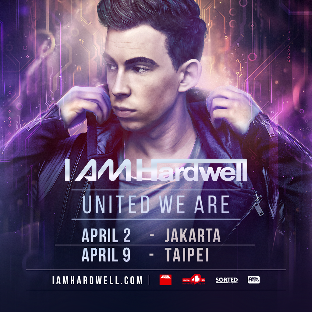 I AM HARDWELL UNITED WE ARE Jakarta 2