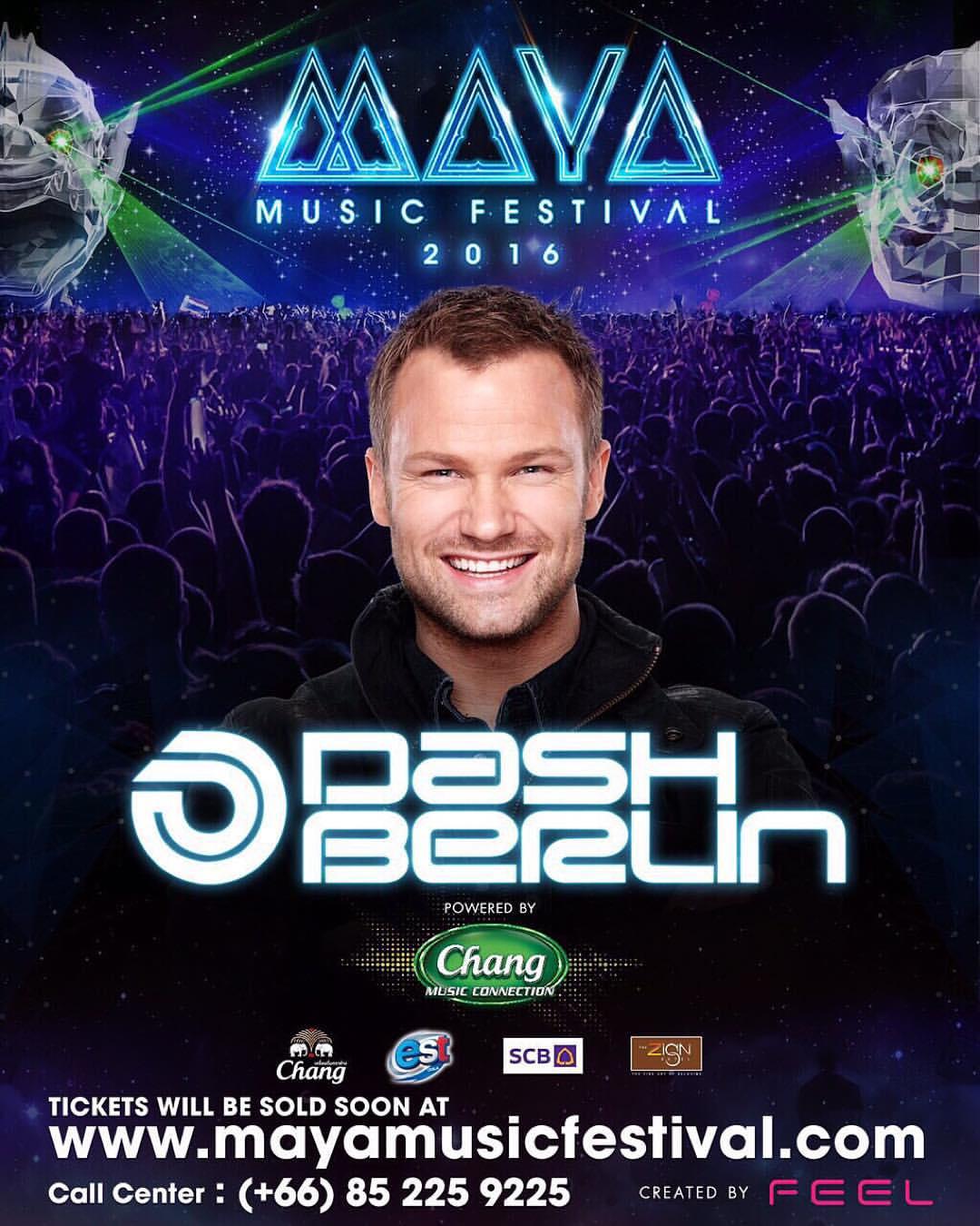 MAYA Music festival   Dash Berlin