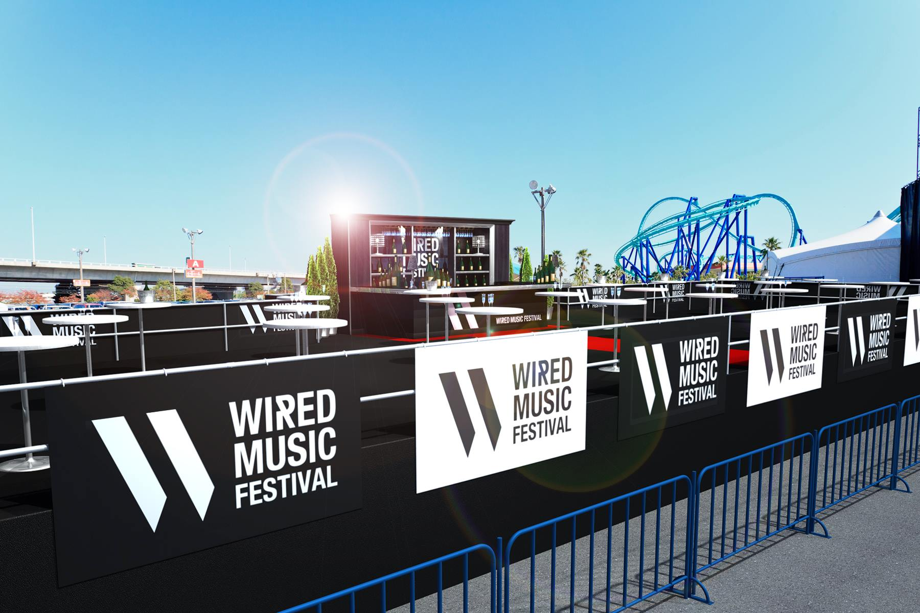 WIRED MUSIC FESTIVAL 2016 VIP