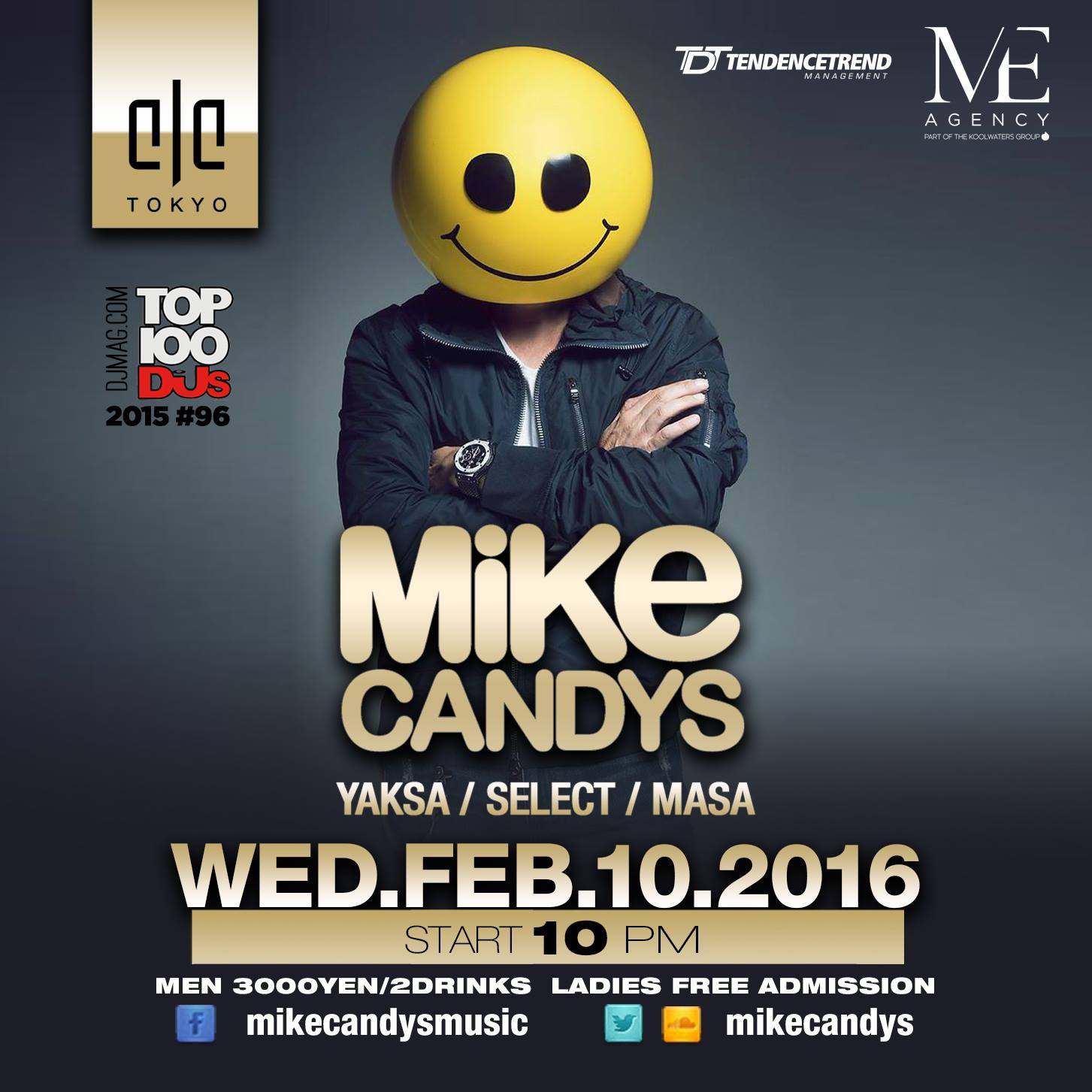 Mike Candys 20160210 ELE TOKYO