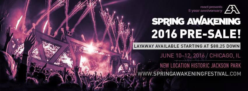 Spring Awakening Music Festival 2016