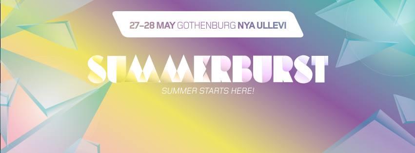 Summerburst Festival Gothenburg 2016