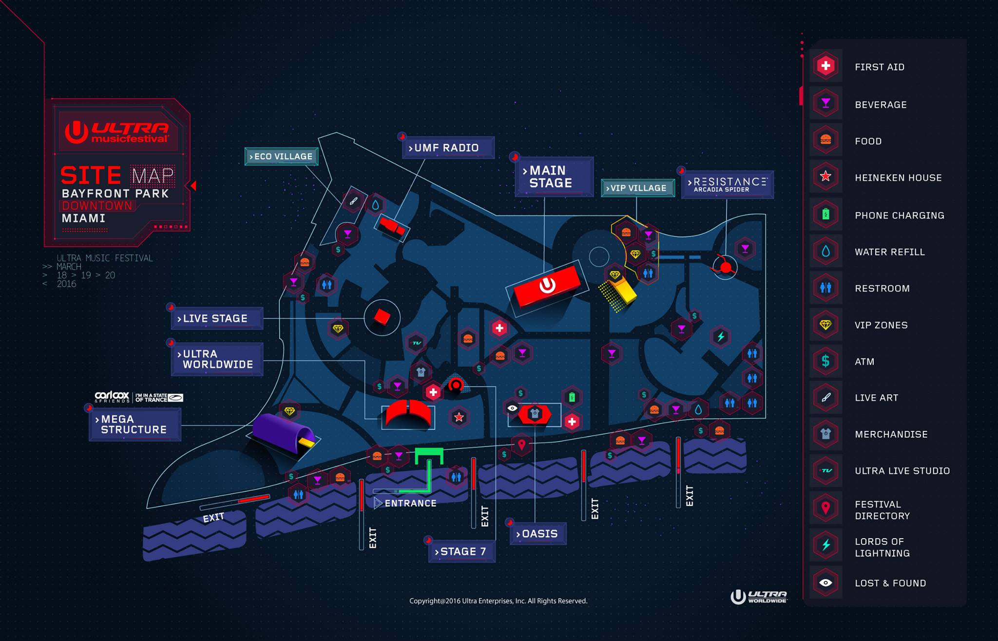 UMF2016 Site Map is here
