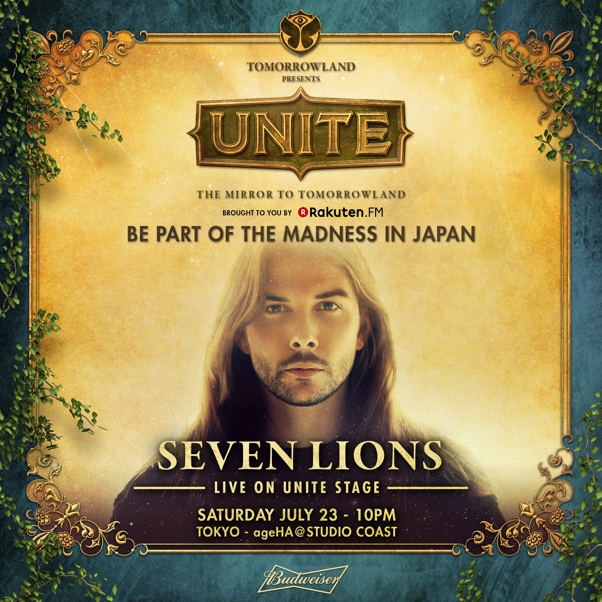 Tomorrowland Presents UNITE - Japan Seven Lions