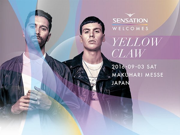 Yellow Claw SENSATION 2016 LINEUP