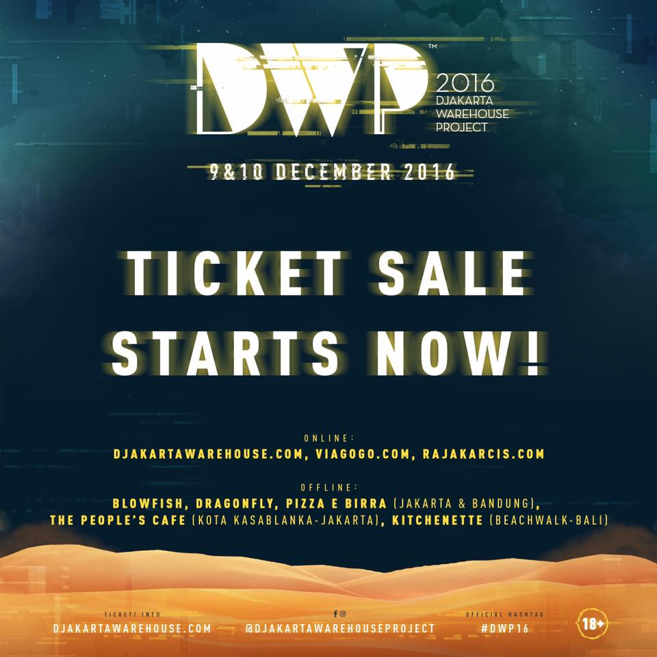 DWP 2016 ticket