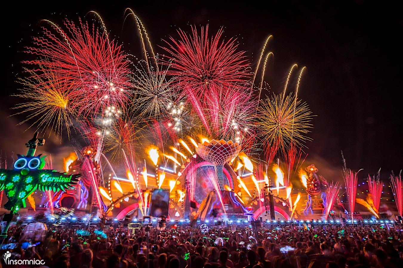 Electric Daisy Carnival (EDC) 2016 thank you
