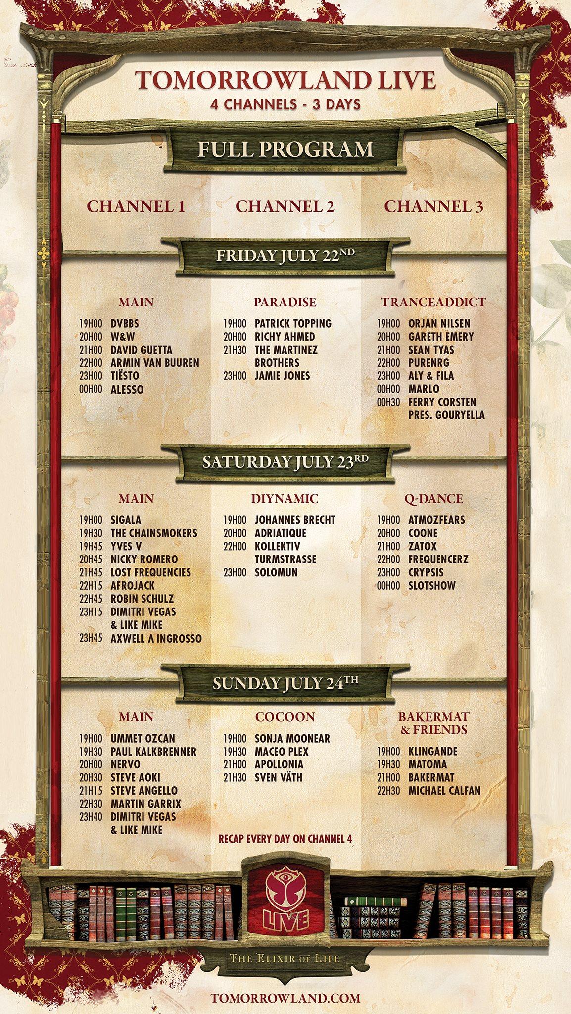 Tomorrowland 2016 live