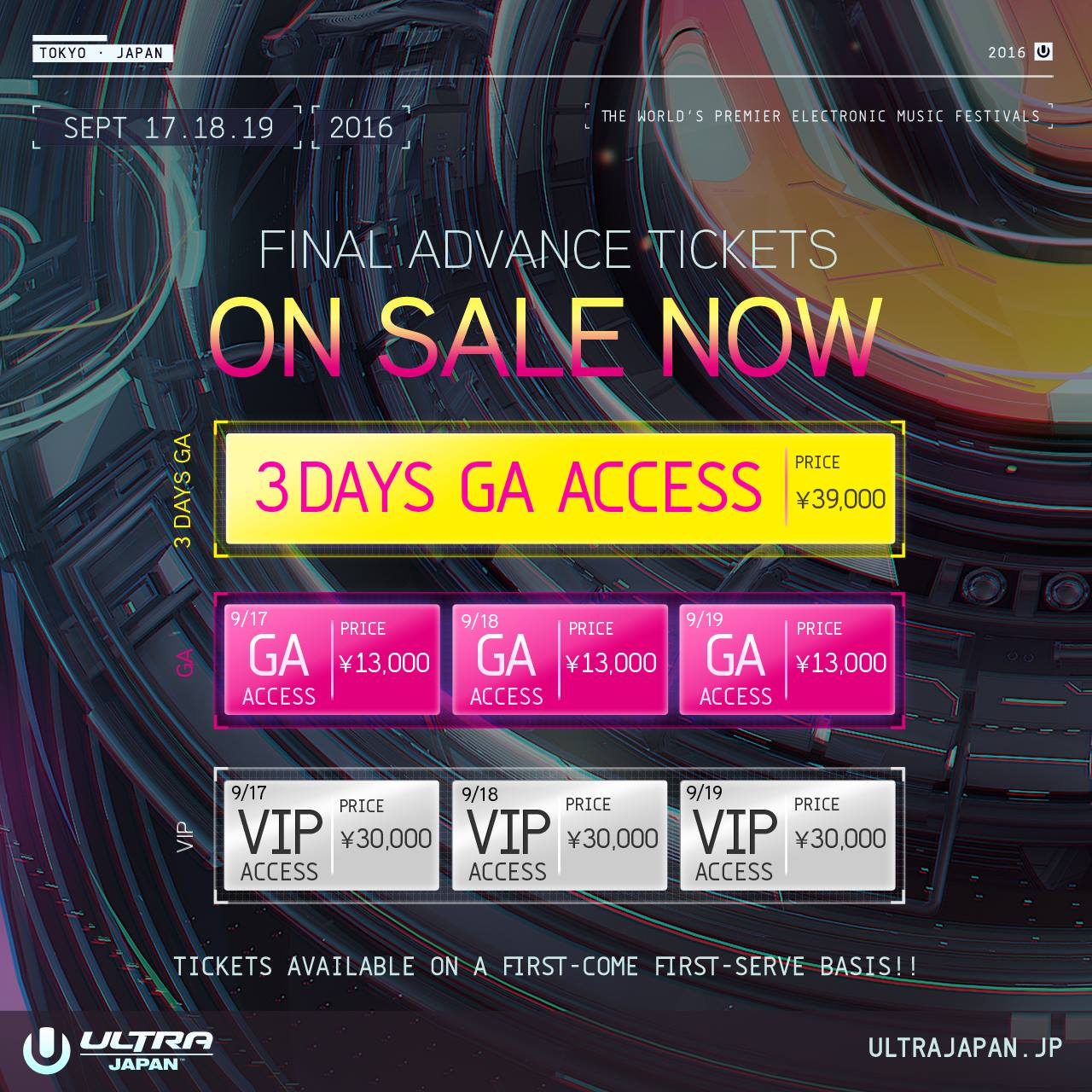 FINAL ADVANCE TICKET SALES STARTS NOW