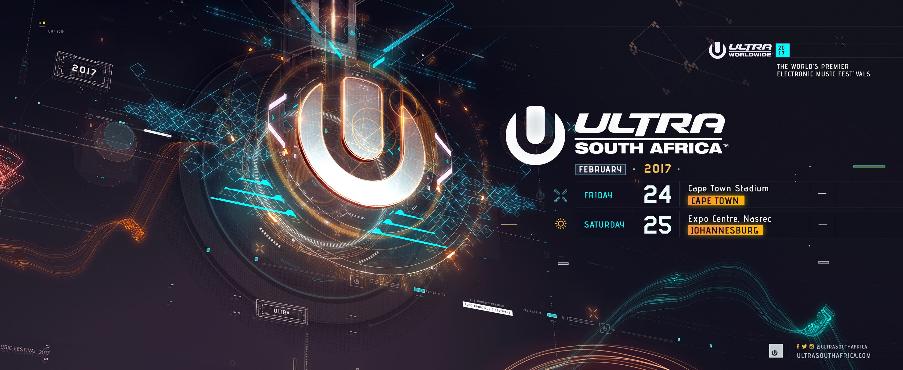 Ultra South Africa 2017 ticket