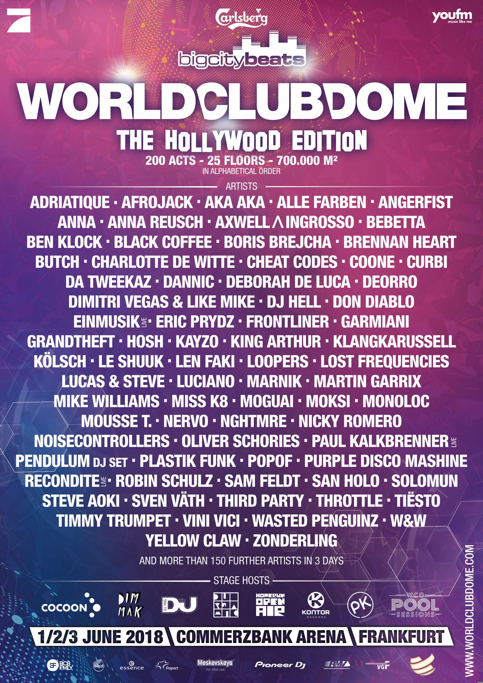 World club dome 2020 frankfurt